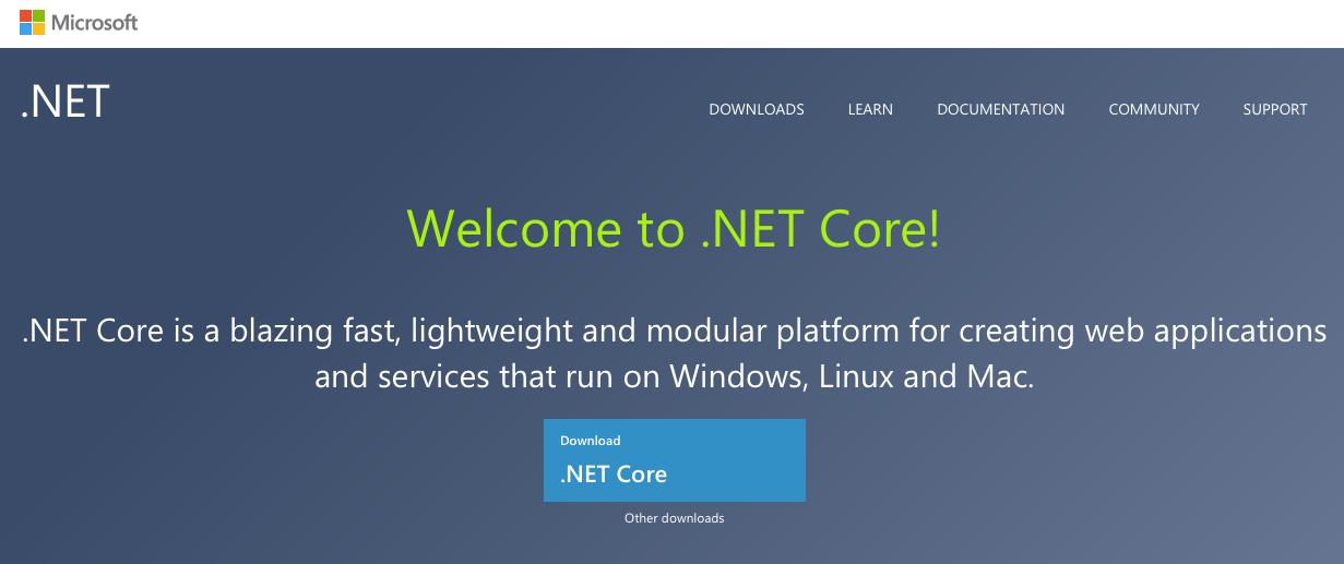 .NET Core - https://www.microsoft.com/net/core
